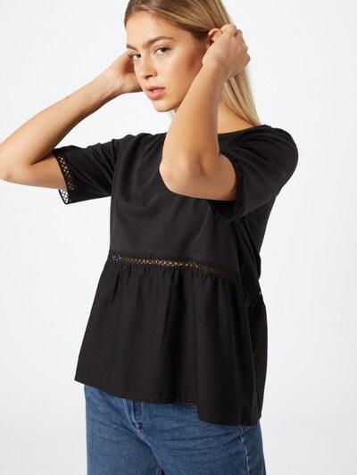 Noisy may Shirt in de kleur Zwart: Vooraanzicht