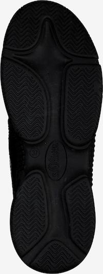 s.Oliver Sneakers laag in de kleur Zwart: Onderaanzicht