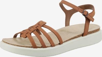 ECCO Corksphere Sandal Klassische Sandalen in hellbraun, Produktansicht