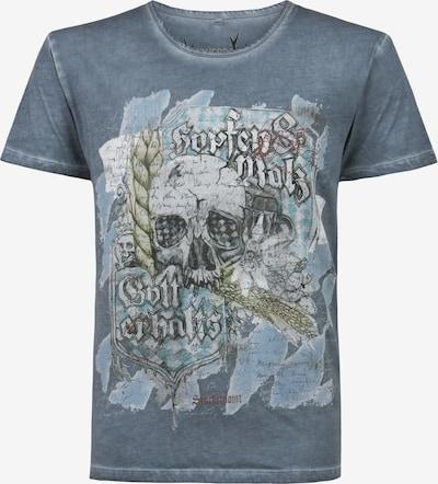 STOCKERPOINT Shirt in blue denim, Produktansicht
