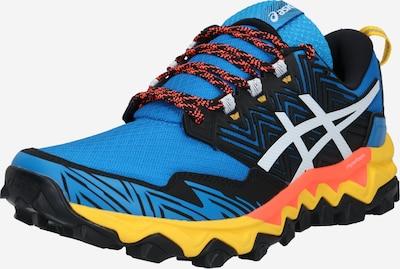 ASICS Sportschuh 'Gel-FujiTrabuco 8' in blau / schwarz / weiß, Produktansicht