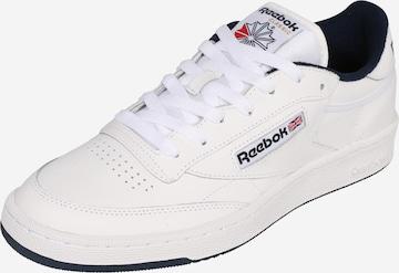balts Reebok Classics Zemie brīvā laika apavi 'CLUB C 85'