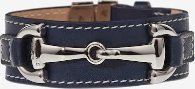 Dimacci Armband 'Orsini' in nachtblau / silber, Produktansicht