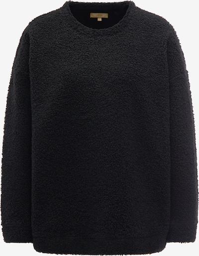 MYMO Pullover in schwarz: Frontalansicht