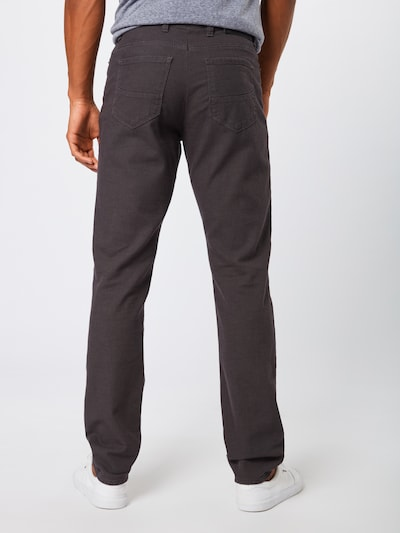 BRAX Pantalon 'cadiz' en gris foncé: Vue de dos