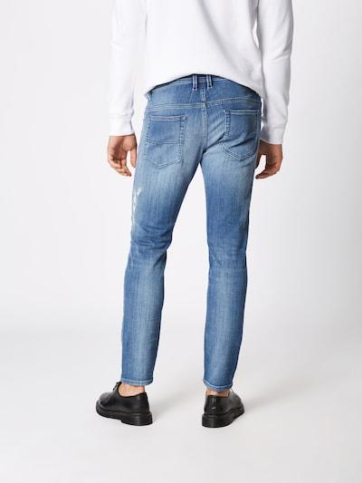 DIESEL Jeans 'THOMMER' in blue denim: Rückansicht