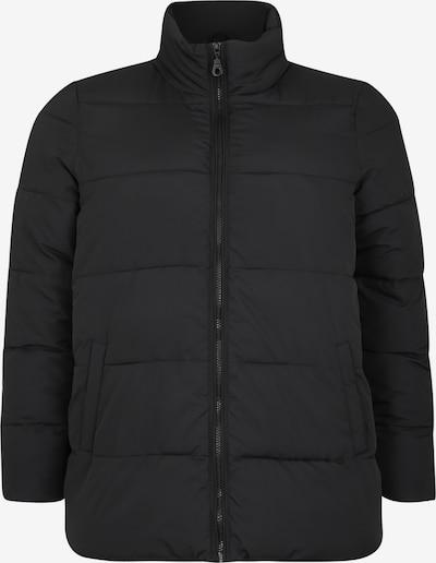 Zizzi Winterjas 'ELMA' in de kleur Zwart, Productweergave
