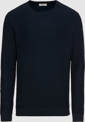 SELECTED HOMME Trui 'SLHNEWJEFF CREW NECK W' in Donkerblauw
