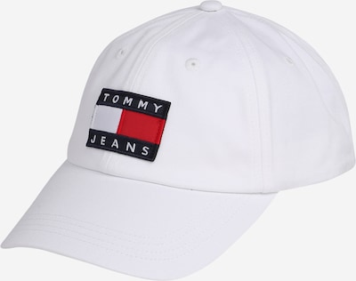 Tommy Jeans Cap 'Heritage' in dunkelblau / rot / offwhite, Produktansicht