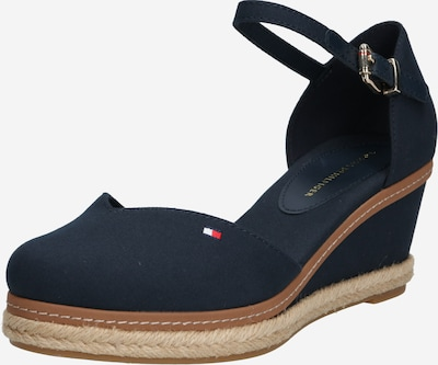 TOMMY HILFIGER Strap sandal 'Elba' in Beige / Dark blue, Item view