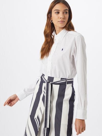 POLO RALPH LAUREN Blus i vit, På modell