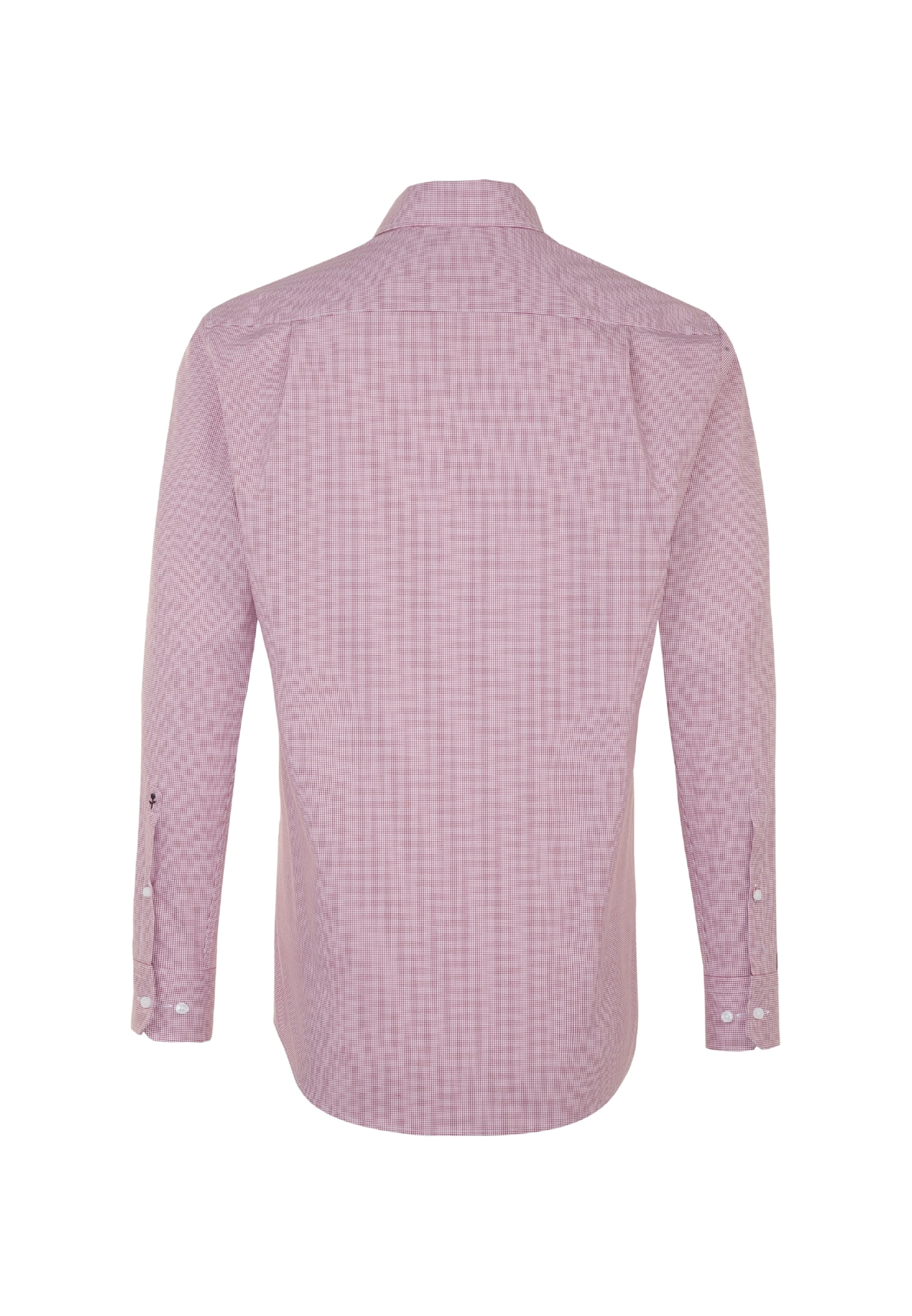 'modern' Seidensticker Seidensticker Hemd In In 'modern' Hemd RotWeiß T13lcFKJ