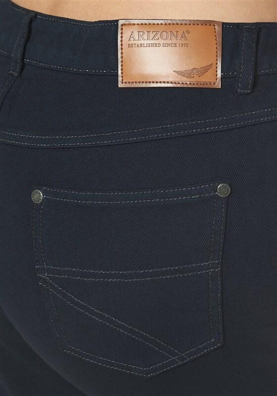 ARIZONA Bequeme Jeans 'Gerade Jeans mit klassicher Leibhöhe'
