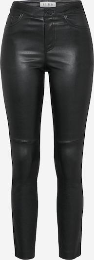 EDITED Lederhose 'Estella' in schwarz, Produktansicht