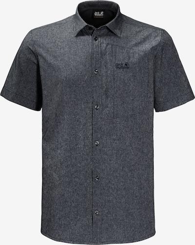 JACK WOLFSKIN Hemd 'Barrel' in nachtblau, Produktansicht