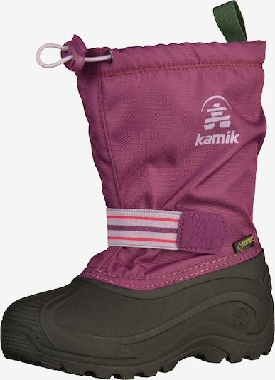 Kamik Boots 'Invadegtx' in de kleur Bessen / Zwart, Productweergave