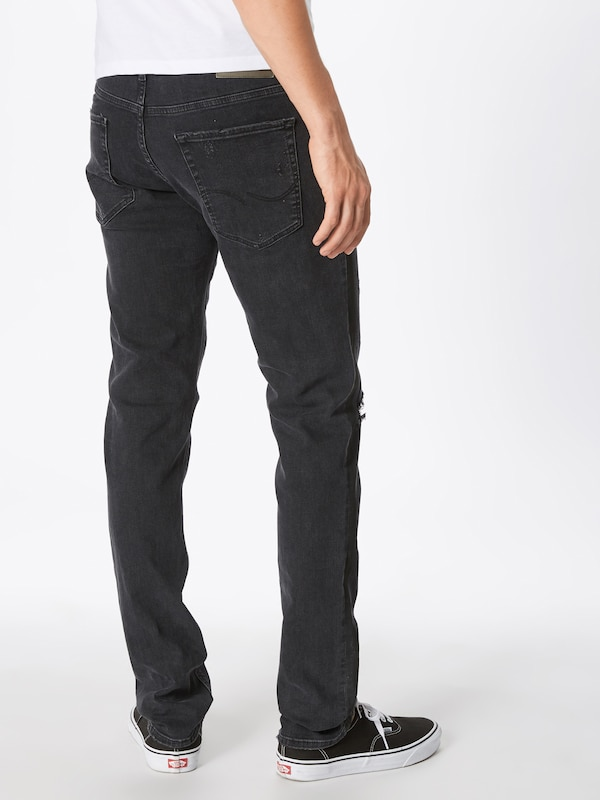 Jean Jos Jackamp; Denim Ltd' 103 Jjoriginal Jones 'jjiglenn En Noir 8mNn0w