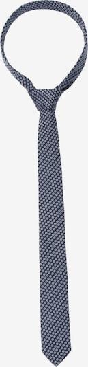 SEIDENSTICKER Krawatte in nachtblau / weiß, Produktansicht