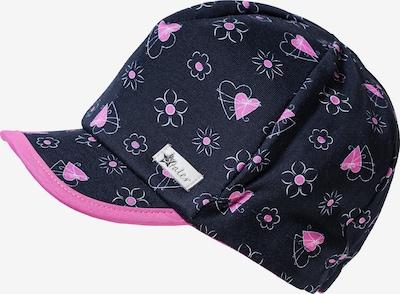STERNTALER Schirmmütze in ultramarinblau / pink, Produktansicht