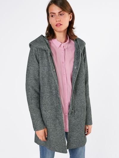Rudeninis-žieminis paltas 'onlSEDONA' iš ONLY , spalva - tamsiai pilka, Modelio vaizdas