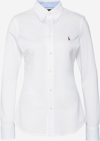 POLO RALPH LAUREN Blouse 'HEIDI' in de kleur Wit, Productweergave