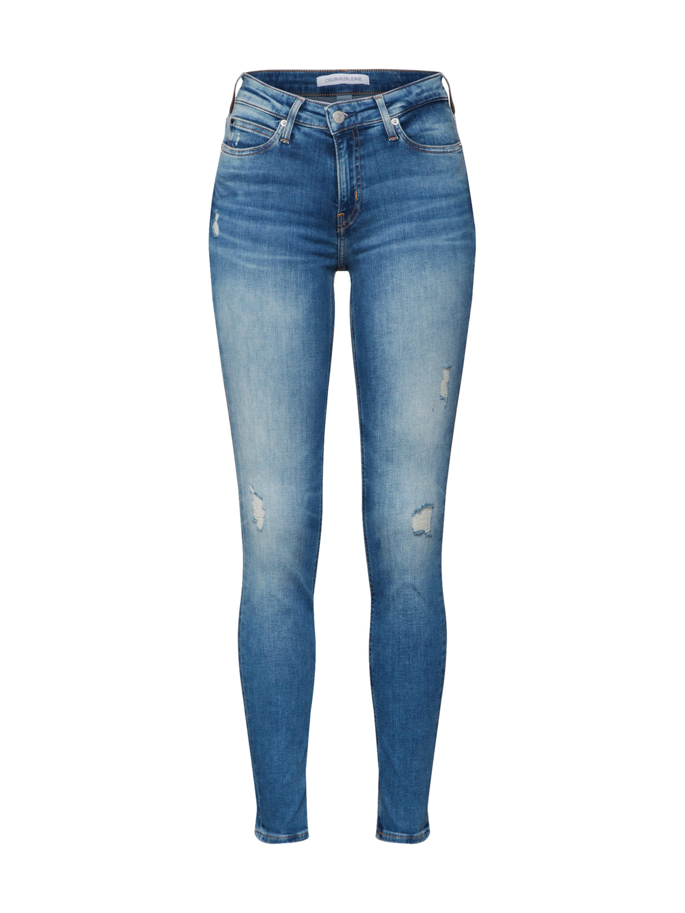 Klein Denim Jeans Calvin In Blue nw0kOP