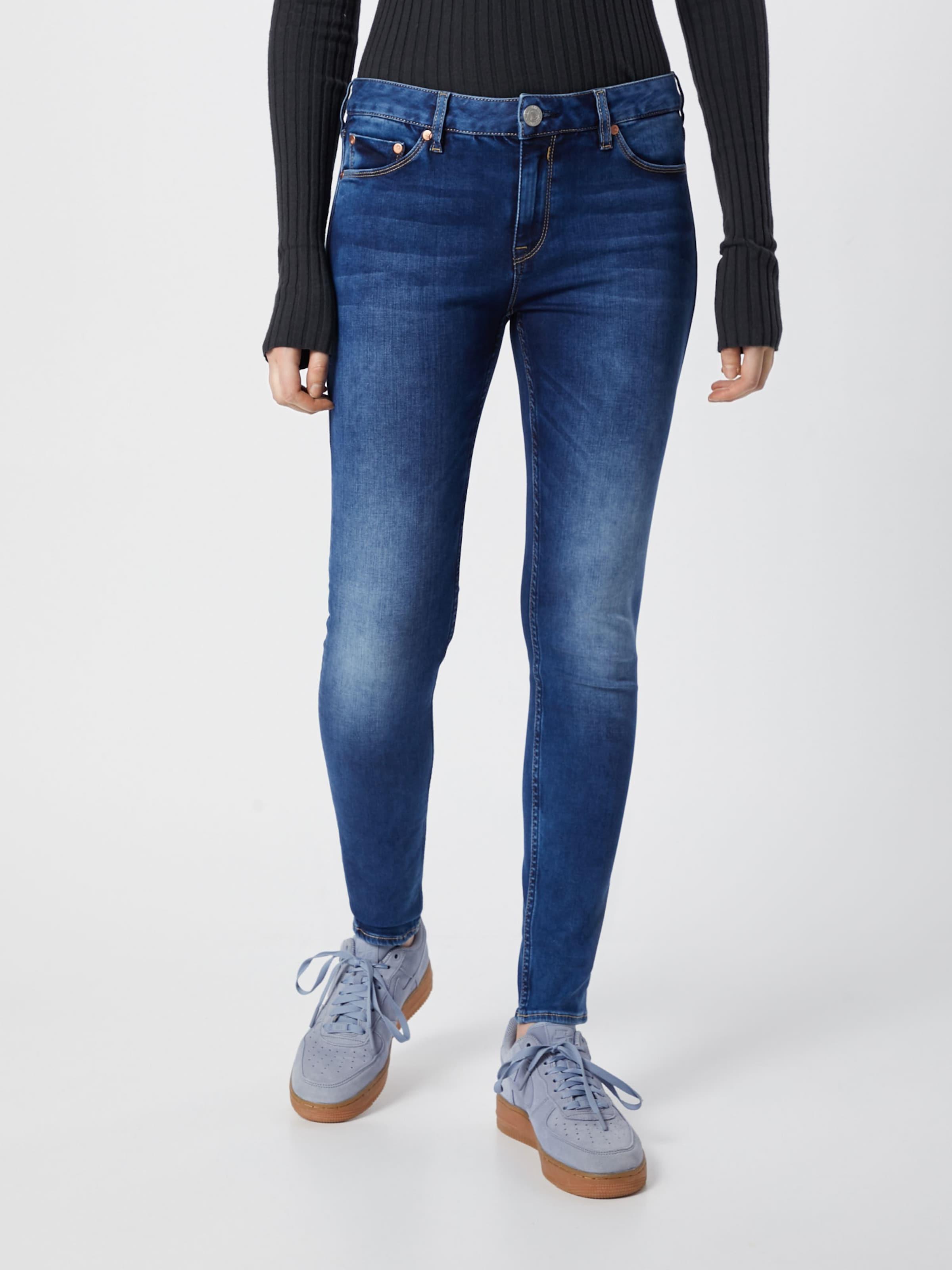 'superslim Denim Jeans Powerstretch' Blau In Herrlicher LSAc3Rq4j5