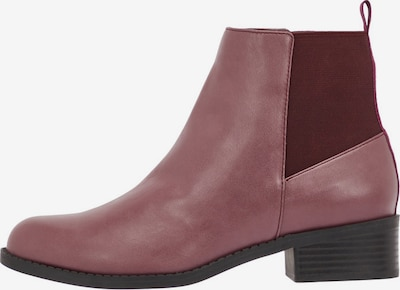 Bianco Chelsea Boots in beere / himbeer: Frontalansicht