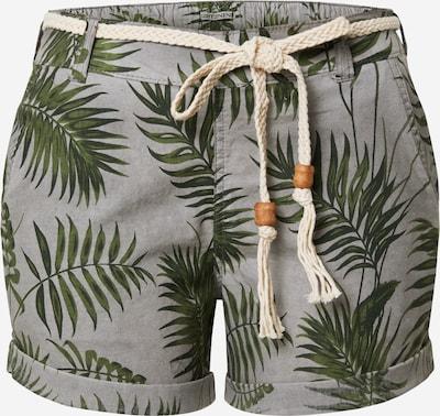 Eight2Nine Shorts in grau / grün, Produktansicht