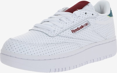 Reebok Classic Sneaker 'Club C Double' in rot / weiß, Produktansicht