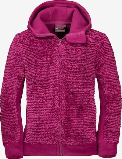 JACK WOLFSKIN Fleecejacke 'Pine Cone' in pink, Produktansicht