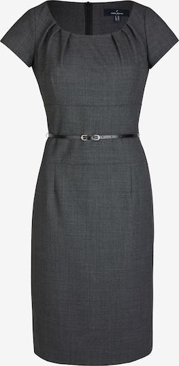 DANIEL HECHTER Woll-Kleid mit Taillengürtel in anthrazit, Produktansicht