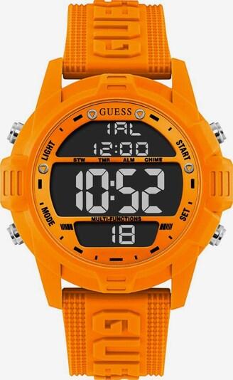 GUESS Armbanduhr in orange, Produktansicht