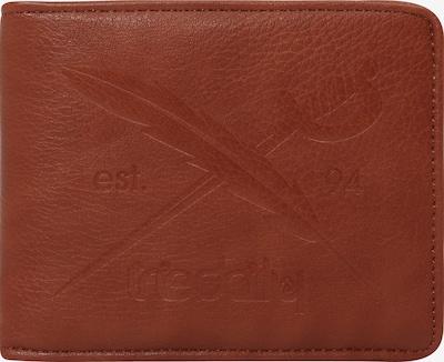 Iriedaily Brieftasche 'Flag Two Punch' in dunkelbraun, Produktansicht