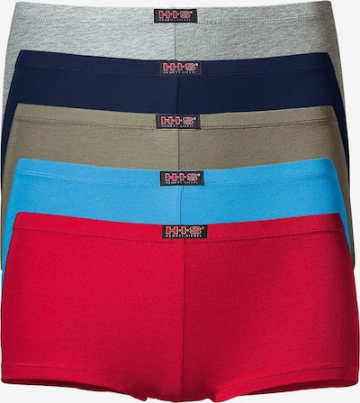 H.I.S Panty in marine blue / Light blue / Grey / Khaki / Red, Item view