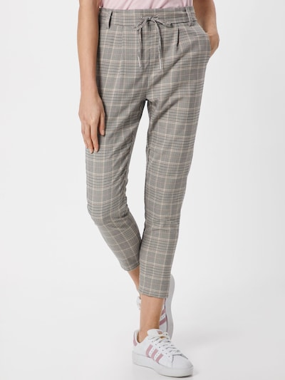 ONLY Hose 'POPTRASH' in grau / weiß, Modelansicht