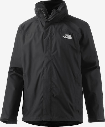 THE NORTH FACE Jacke 'SANGRO' in schwarz / weiß, Produktansicht