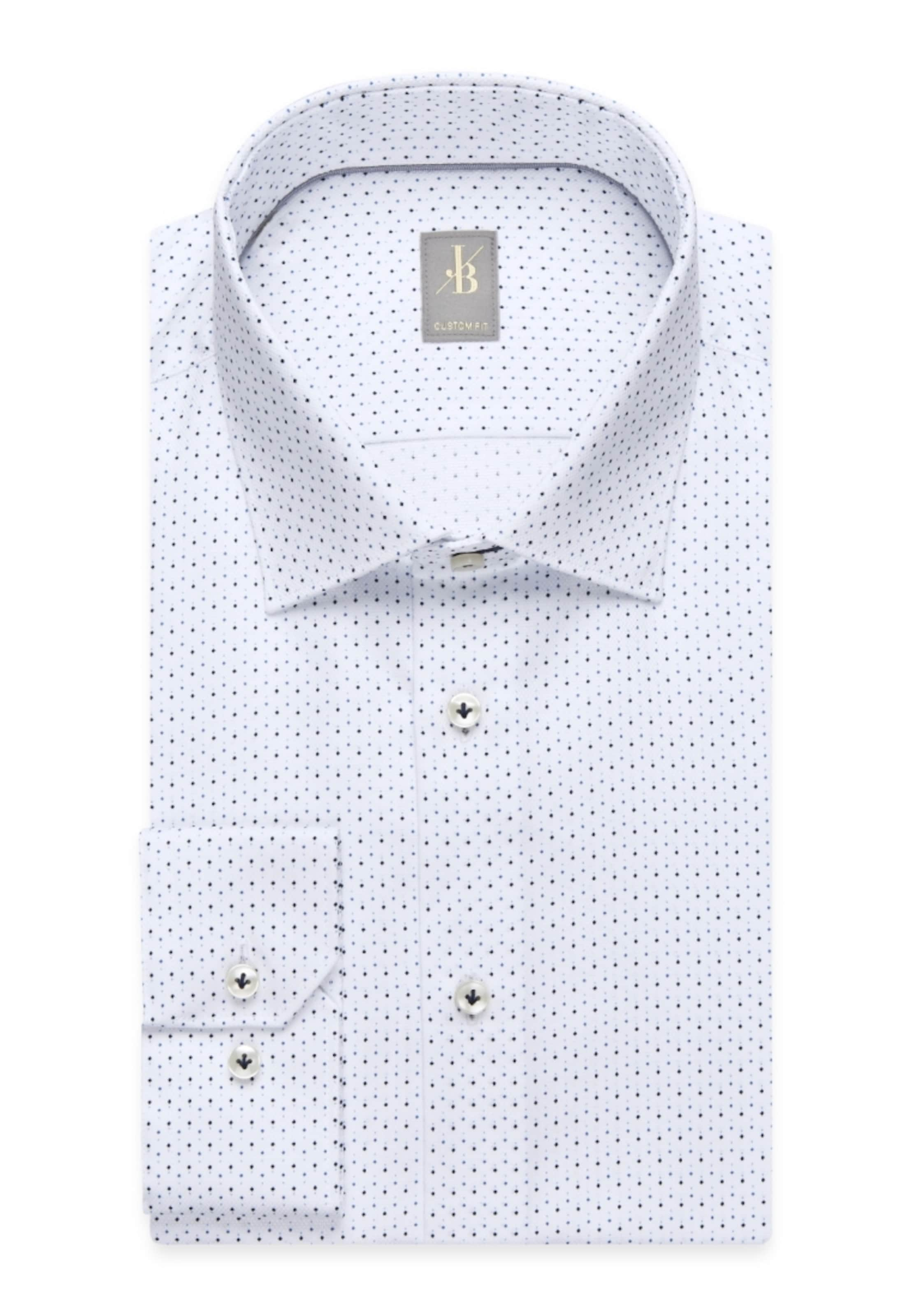 'custom hemd Fit' In Britt BlauWeiß Jacques City rCBdoxe
