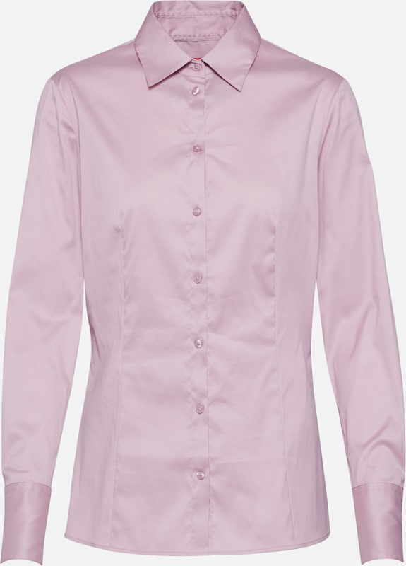 HUGO Chemisier 'The Fitted Shirt' en rose, Vue avec produit