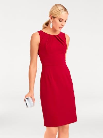 heine Etuikleid in rot, Modelansicht