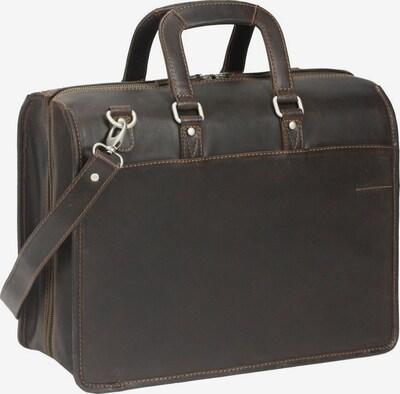 GREENLAND Westcoast Aktentasche in braun, Produktansicht