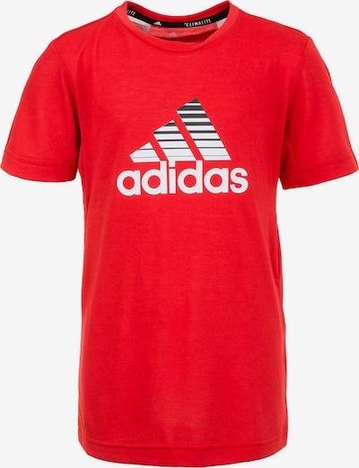 ADIDAS PERFORMANCE T-Shirt 'Prime' in rot / weiß, Produktansicht