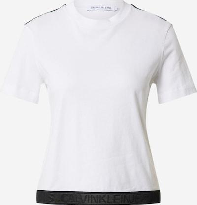 Calvin Klein Jeans T-Krekls pieejami melns / balts, Preces skats