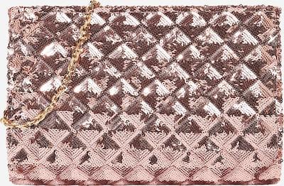 mascara Pochette 'Sequin Fold' en or, Vue avec produit