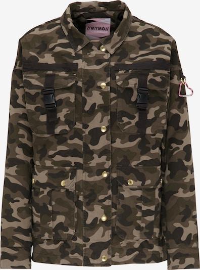 MYMO Fieldjacket in beige / braun / dunkelbraun, Produktansicht