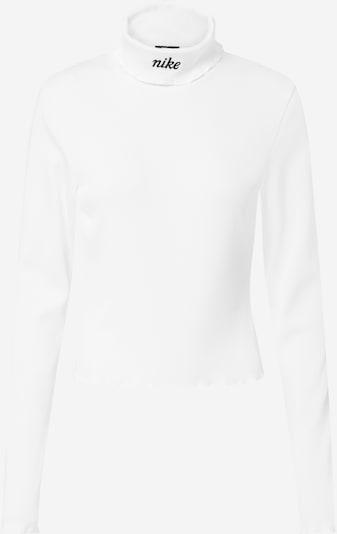 Nike Sportswear Pull-over en noir / blanc, Vue avec produit