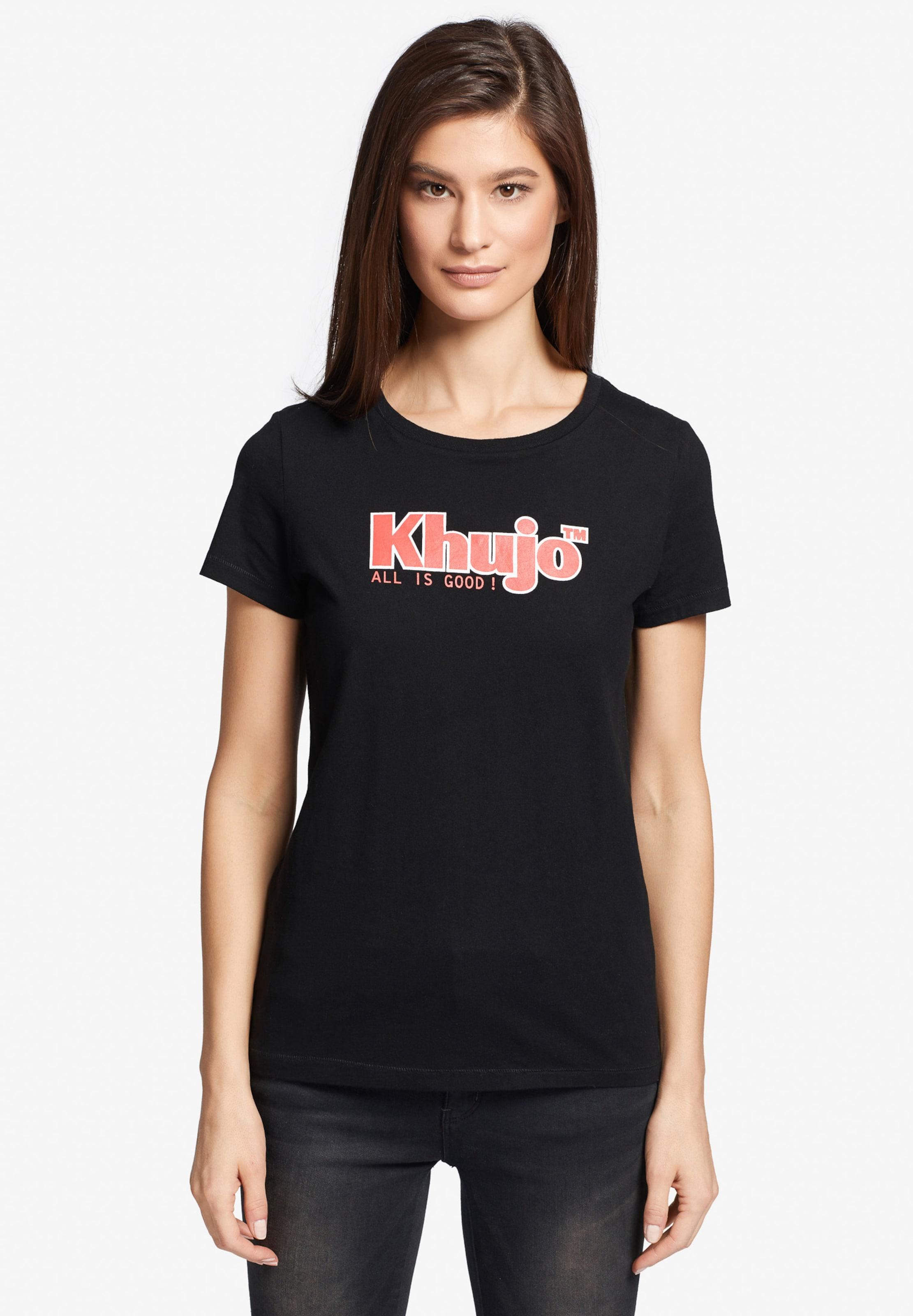 HellrotSchwarz T Khujo Logo' In shirt 'brooke XPkZiu