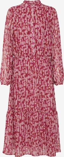 Rochie tip bluză 'Structure Tessa' BRUUNS BAZAAR pe roz / roșu, Vizualizare produs