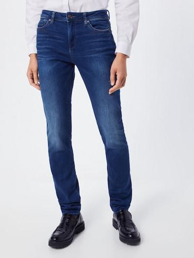 ESPRIT Jeans 'OCS MR Slim Pants denim' in dunkelblau, Modelansicht