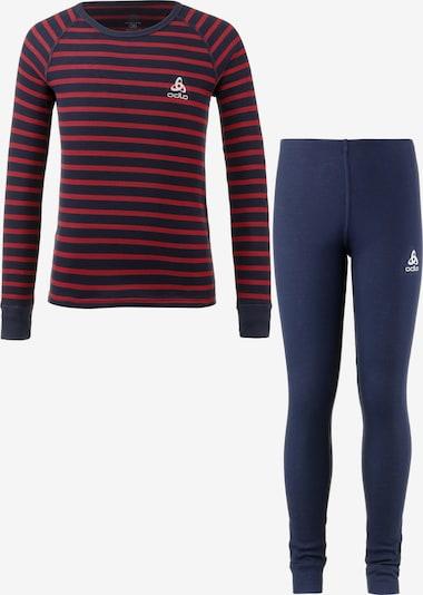 ODLO Sportwasche in navy / rot, Produktansicht